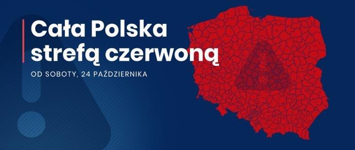Cała Polska w czerwonej strefie ......
