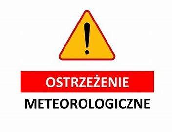 Ostrzeżenie meteorologiczne!